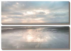 Silver Sands-Assaf Frank-Stretched Canvas