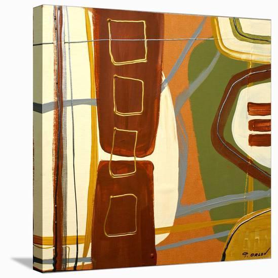 Simplicity I-Irena Orlov-Stretched Canvas Print