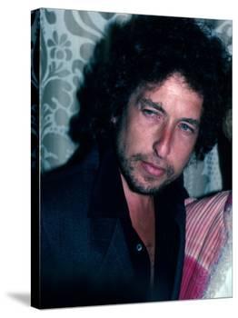 Singer and Songwriter Bob Dylan-David Mcgough-Premier Image Canvas