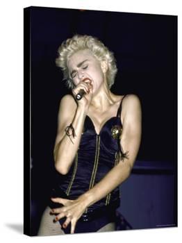 Singer Madonna Performing-David Mcgough-Premier Image Canvas