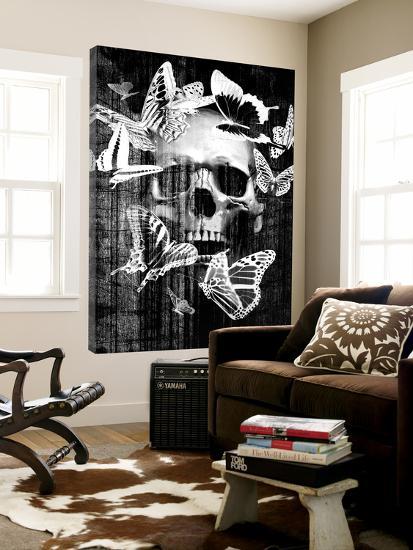 Skull Butterfly Crown--Loft Art