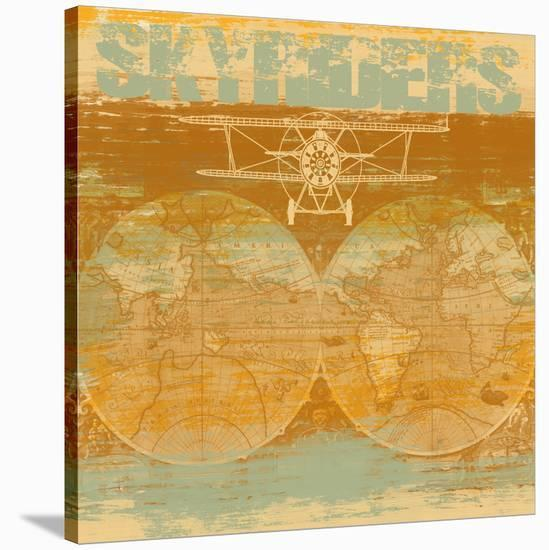 Skyriders-Yashna-Stretched Canvas Print