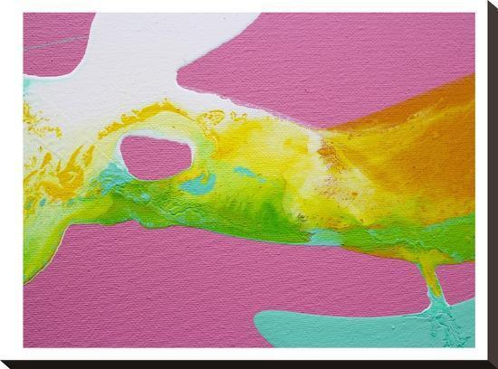 Smooth Yellow-Deb McNaughton-Stretched Canvas Print