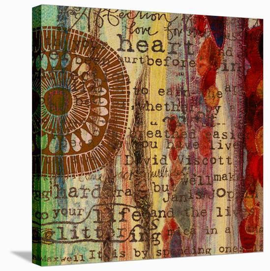 Solar I-Irena Orlov-Stretched Canvas Print