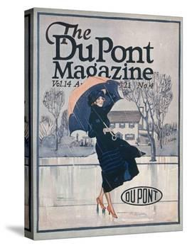 Something New in Sportswear, Front Cover of the 'Dupont Magazine', April 1921-American School-Premier Image Canvas