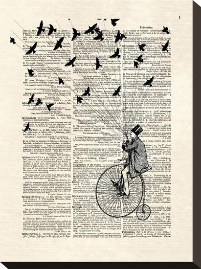 Sparrow Thief-Matt Dinniman-Stretched Canvas Print