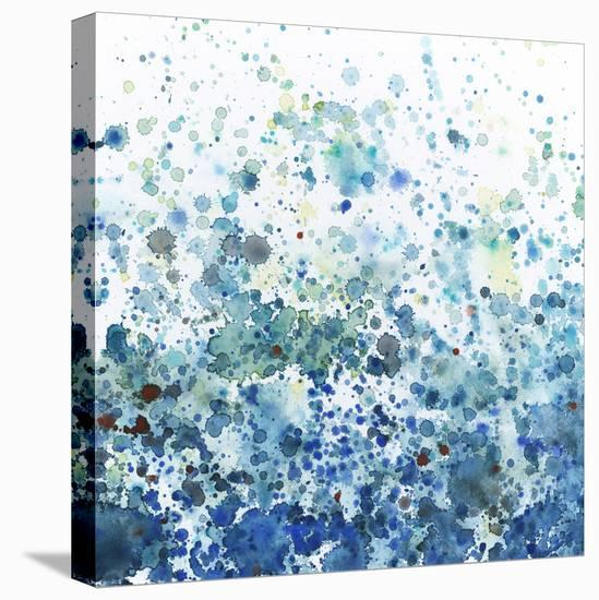 Speckled Sea I-Megan Meagher-Stretched Canvas Print