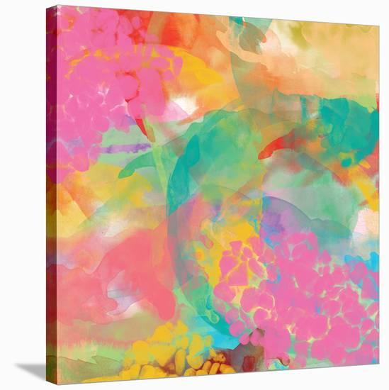 Spectacular effect V-Yashna-Stretched Canvas Print