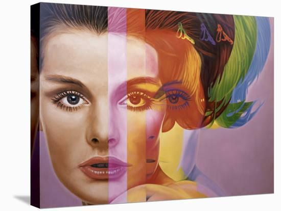 Spectrum-Richard Phillips-Stretched Canvas