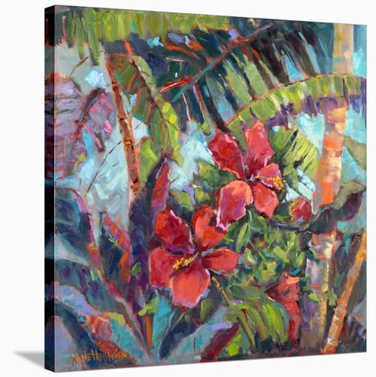 Splash of the Tropics II-Nanette Oleson-Stretched Canvas Print