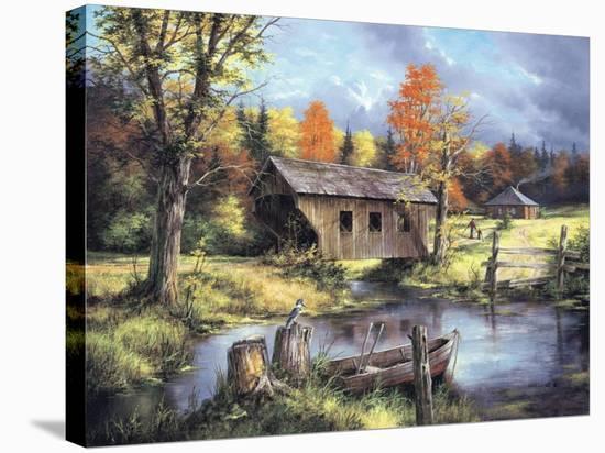 Spring Field-Rudi Reichardt-Stretched Canvas Print