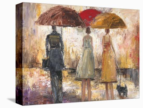 Spring Showers 1-Marc Taylor-Stretched Canvas