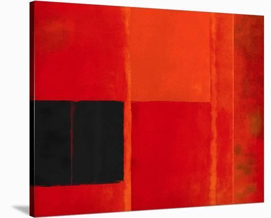 Square Twilight Crescent-Carmine Thorner-Stretched Canvas Print