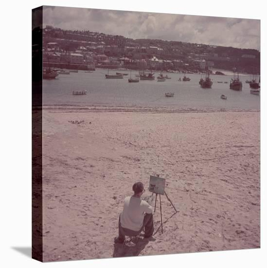 St. Ives Artists' Colony, Cornwall, England-Mark Kauffman-Stretched Canvas Print