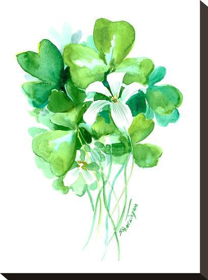 St Patrick 1-Suren Nersisyan-Stretched Canvas Print
