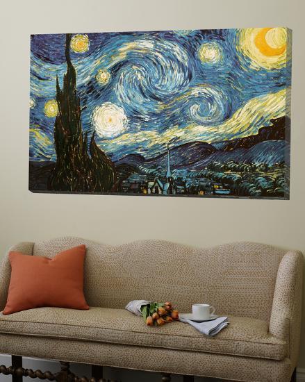 Starry Night, c.1889-Vincent van Gogh-Loft Art