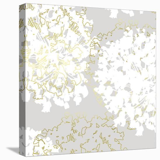 Stencil In Bloom I-Myriam Tebbakha-Stretched Canvas Print