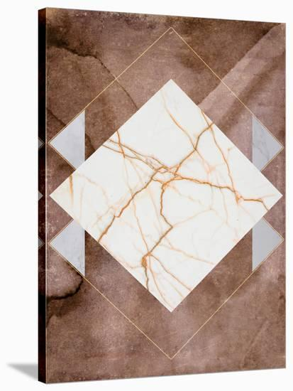 Stone & Marble II--Stretched Canvas Print