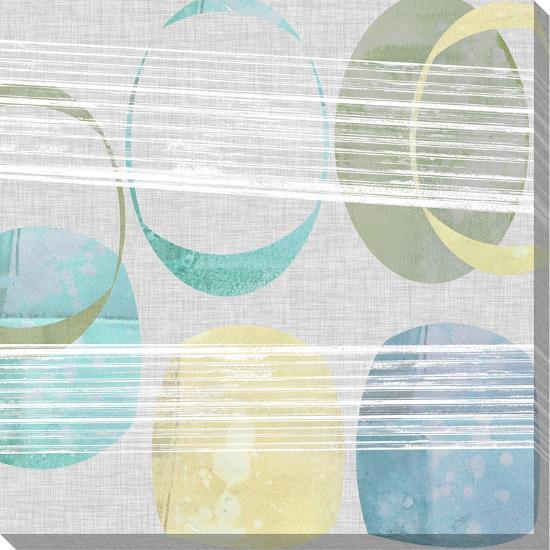 Stone Pattern II-Jennifer Goldberger-Stretched Canvas Print