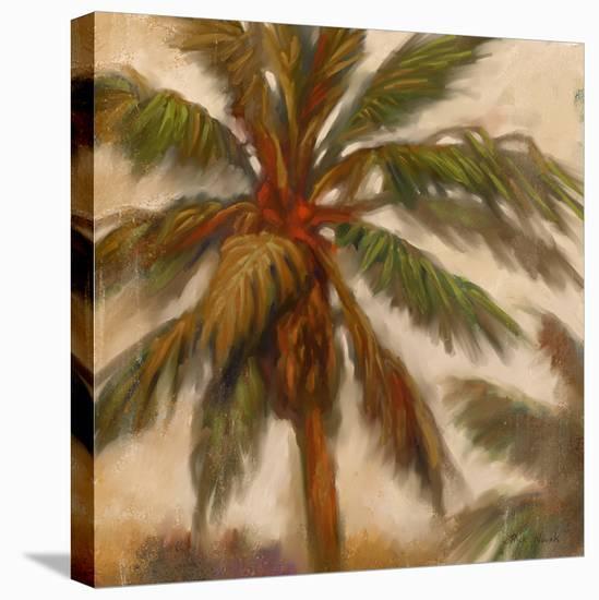 Strickly Palms 02-Rick Novak-Stretched Canvas Print