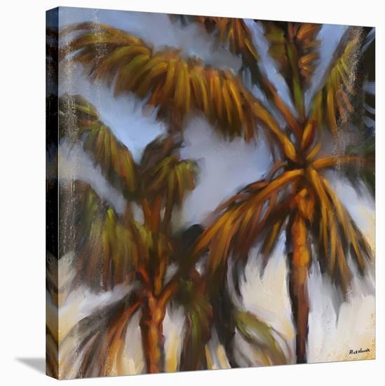 Stricktly Palms 04-Rick Novak-Stretched Canvas Print