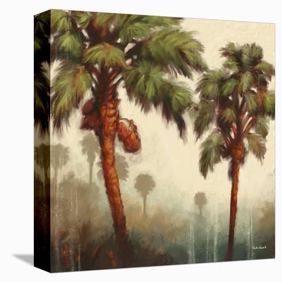 Strictly Palms 05-Rick Novak-Stretched Canvas Print