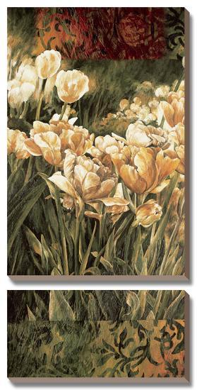 Summer Garden-Linda Thompson-Canvas Art Set