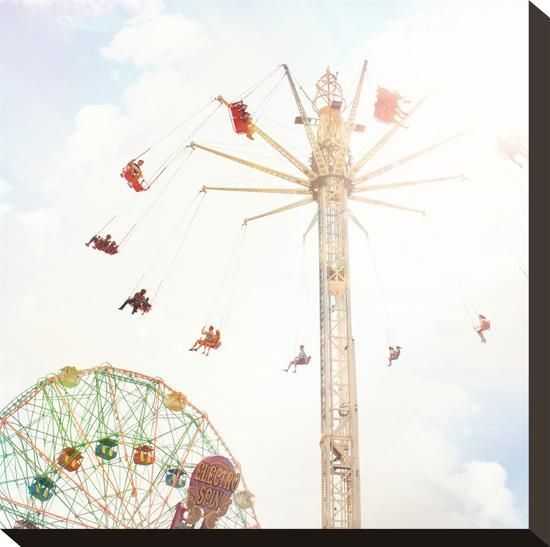 Summer Rides-Mina Teslaru-Stretched Canvas Print