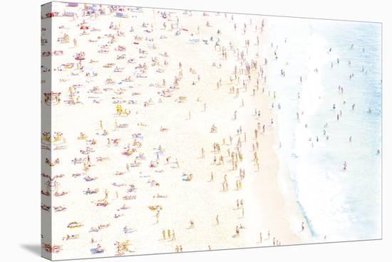 Summer Seas-Joseph Eta-Stretched Canvas Print