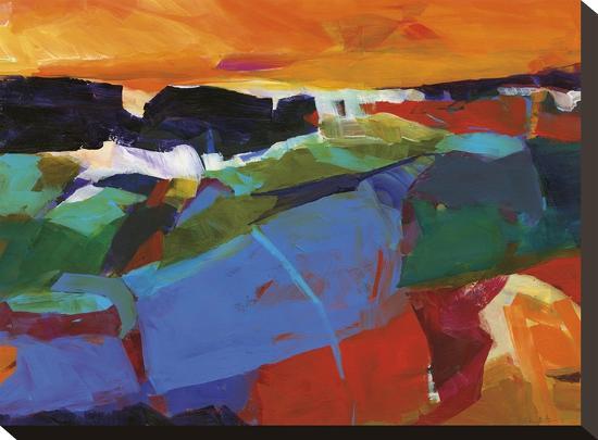 Summer Shores 1-Barbara Rainforth-Stretched Canvas Print