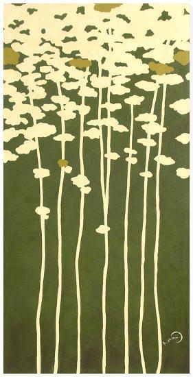 Summers Bounty II-Takashi Sakai-Stretched Canvas Print