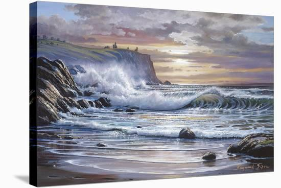 Sunglow-Raymond Sipos-Stretched Canvas Print