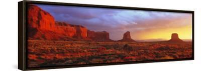 Sunrise, Monument Valley, Arizona, USA--Framed Canvas Print