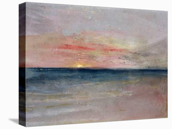 Sunset-J^ M^ W^ Turner-Stretched Canvas Print
