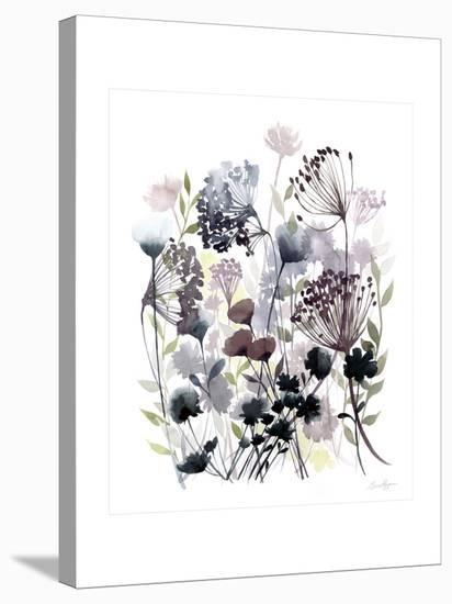 Swaying Florets I-Grace Popp-Stretched Canvas Print