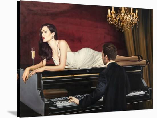 Sweetest Song-Pierre Benson-Stretched Canvas Print