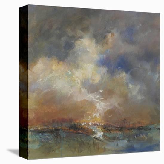 Sylvan Stream-Anne Farrall Doyle-Stretched Canvas Print