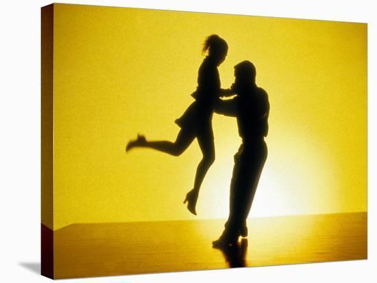 Tango by Carlos Saura with Cecilia Narova, 1998--Stretched Canvas Print