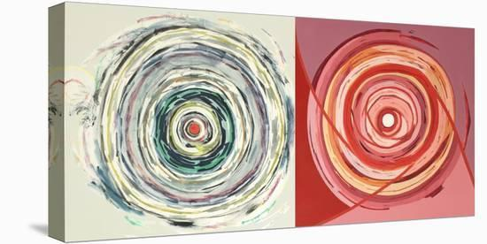 Target duo III-Nino Mustica-Stretched Canvas Print