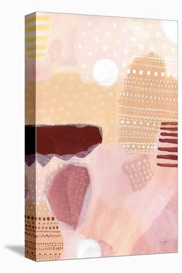 Terracotta Tribal-Lynn Mack-Stretched Canvas Print