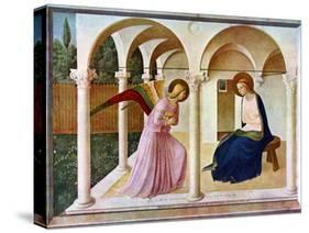 The Annunciation, C1438-1445, (C1900-192)-Fra Angelico-Premier Image Canvas