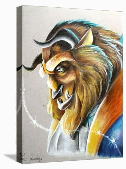 The Beast-Manuela Lai-Stretched Canvas Print
