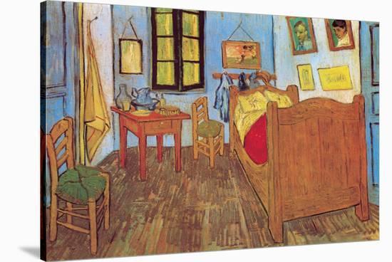 The Bedroom At Arles C 1887 Stretched Canvas Print Vincent Van Gogh Art Com,Kitchen Garden Window Shelf