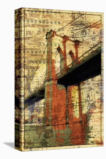 The Brooklyn Bridge-Irena Orlov-Stretched Canvas Print