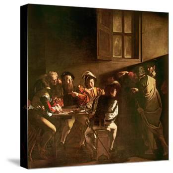 The Calling of St. Matthew, C.1598-1601-Caravaggio-Premier Image Canvas