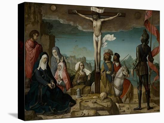 The Crucifixion, 1509-Juan de Flandes-Premier Image Canvas