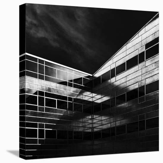 The Dark Side Of Light-Jeroen Van De-Stretched Canvas Print