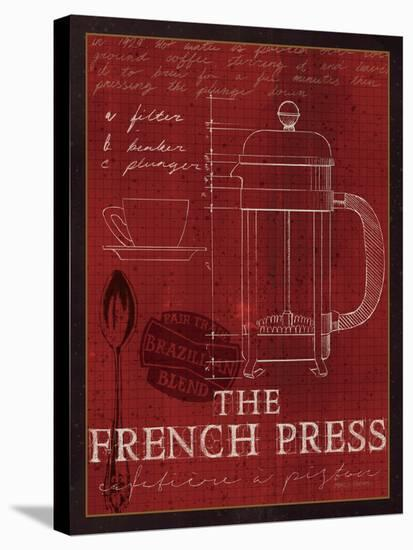 The French Press-Marco Fabiano-Stretched Canvas Print