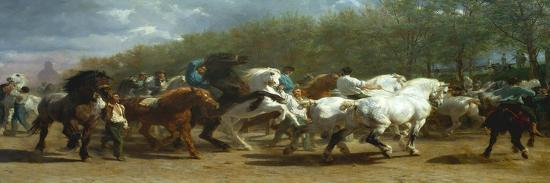 The Horse Fair, 1852-55-Rosa Bonheur-Premier Image Canvas