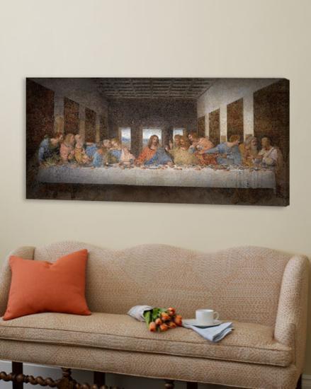 The Last Supper-Leonardo Da Vinci-Loft Art